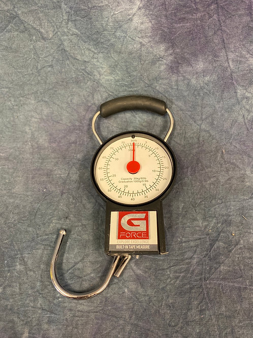G force luggage scale