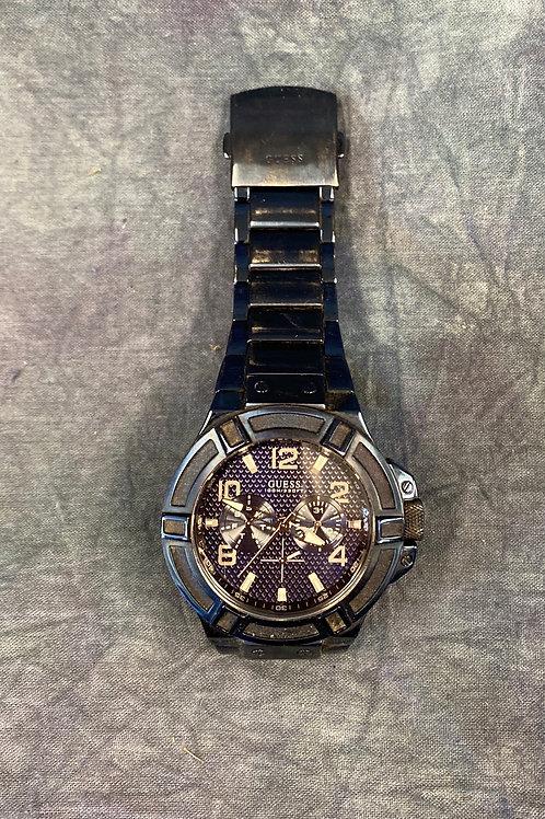Guess  Steel 100 M  Men's watch