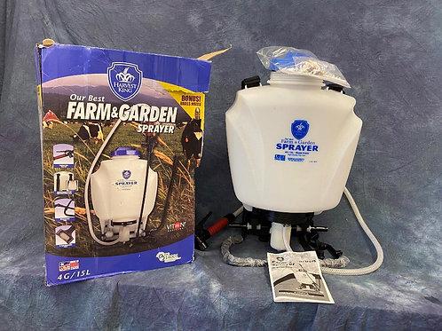 Harvest King, Farm and  Garden backpack sprayer
