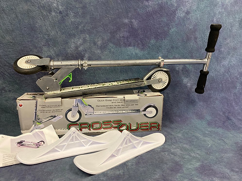 Crossover  Ski and scooter