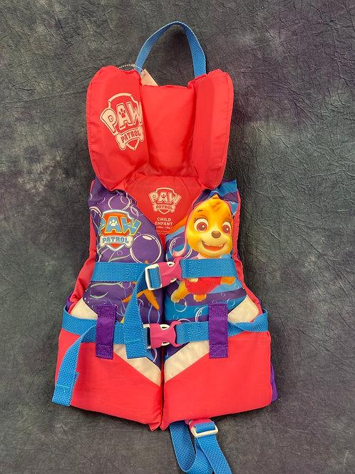 Paw Patrol Child Life Jacket