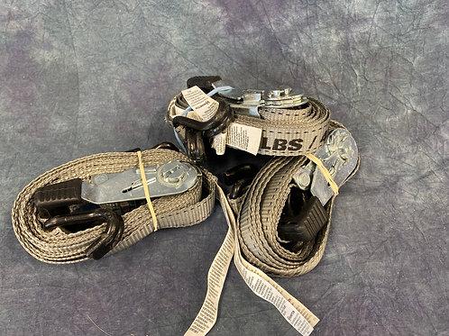 Hampton ratcheted straps