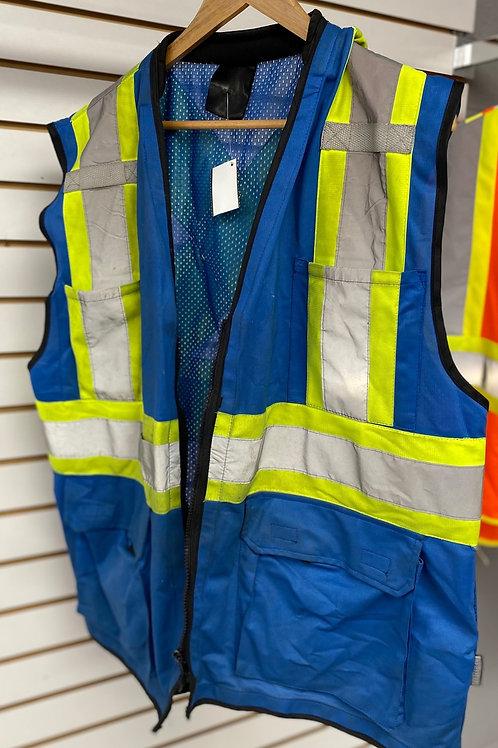 Blue Safety Vest