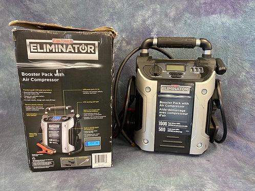 Motomaster Eliminator Booster Pack with Air Compressor