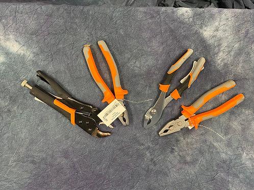 Assorted Medium Pliers