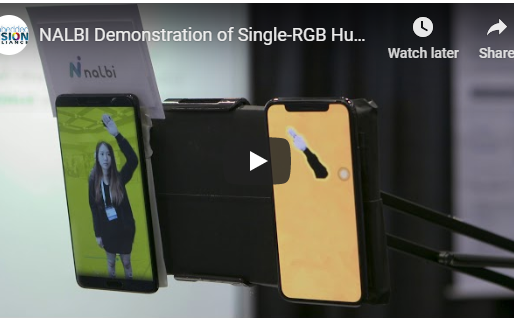 <EVENT> Embedded Vision Alliance - NALBI SIngle-RGB Human segmentation