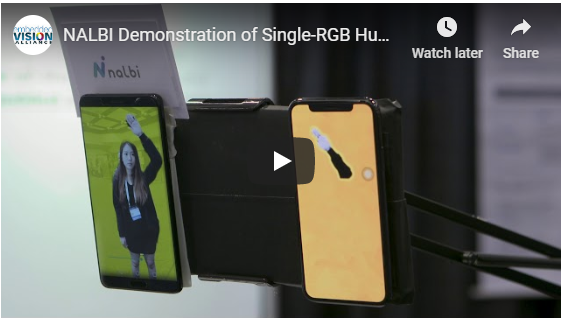 <EVENT> Embedded Vision Alliance - NALBI SIngle-RGB Human segmentation