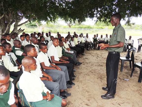Thulani Thusi, Conservation Educator