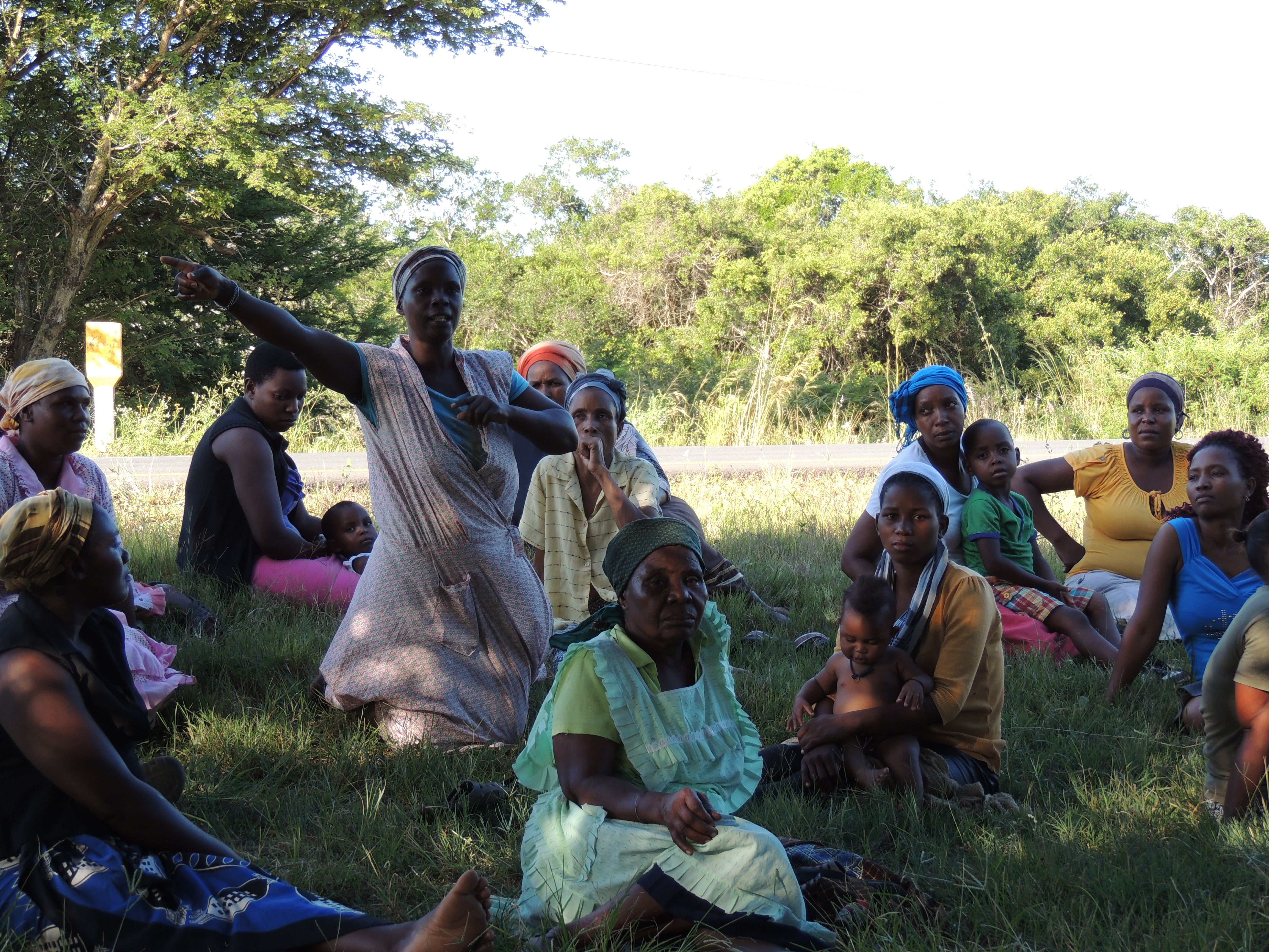 Tribal Meeting in Zululand