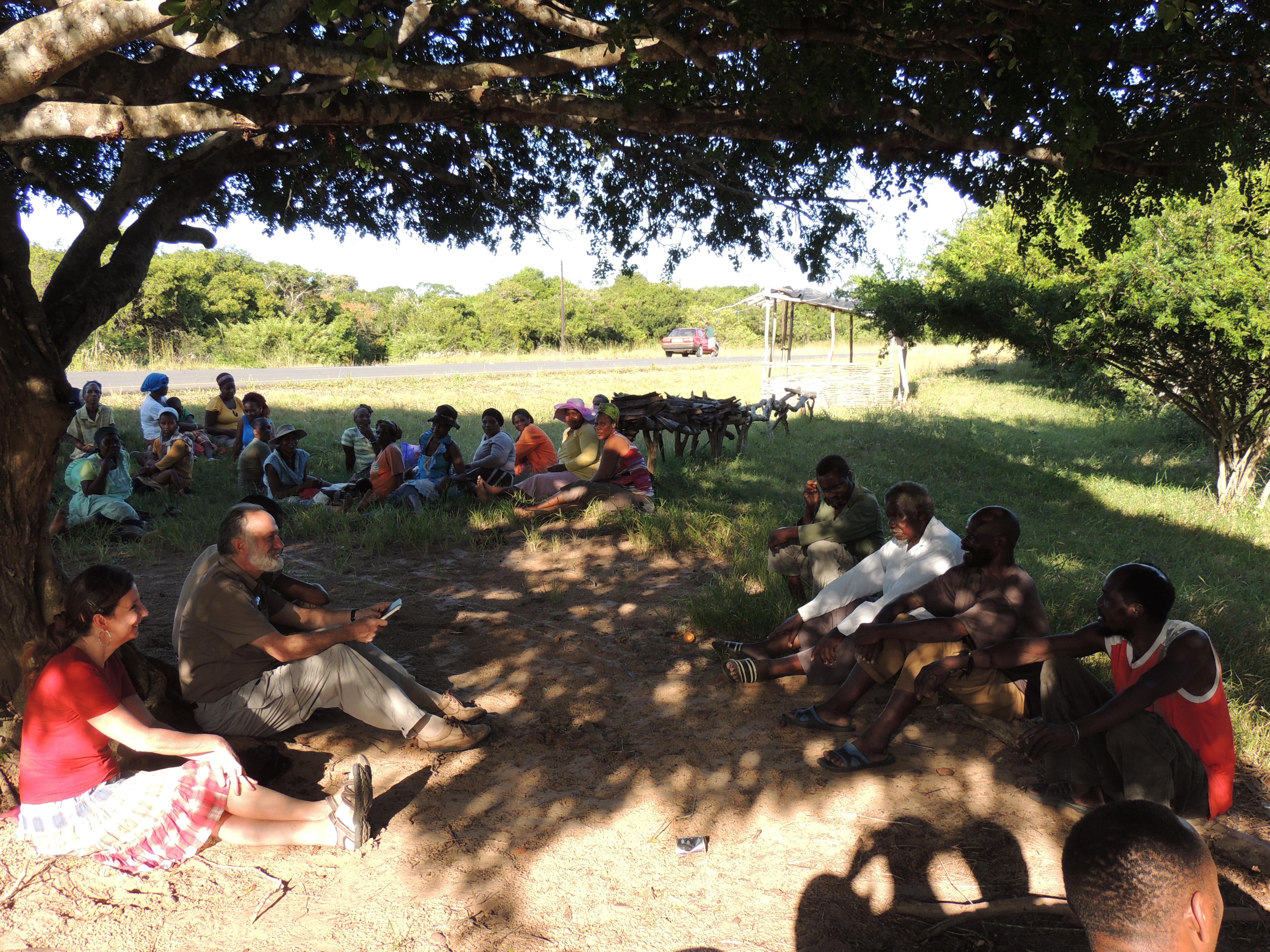 Sindisa Fund @ Tribal Meeting
