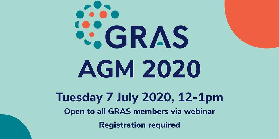 GRAS Annual General Meeting 2020