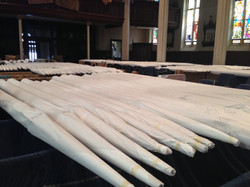 Pipes ready to be installed