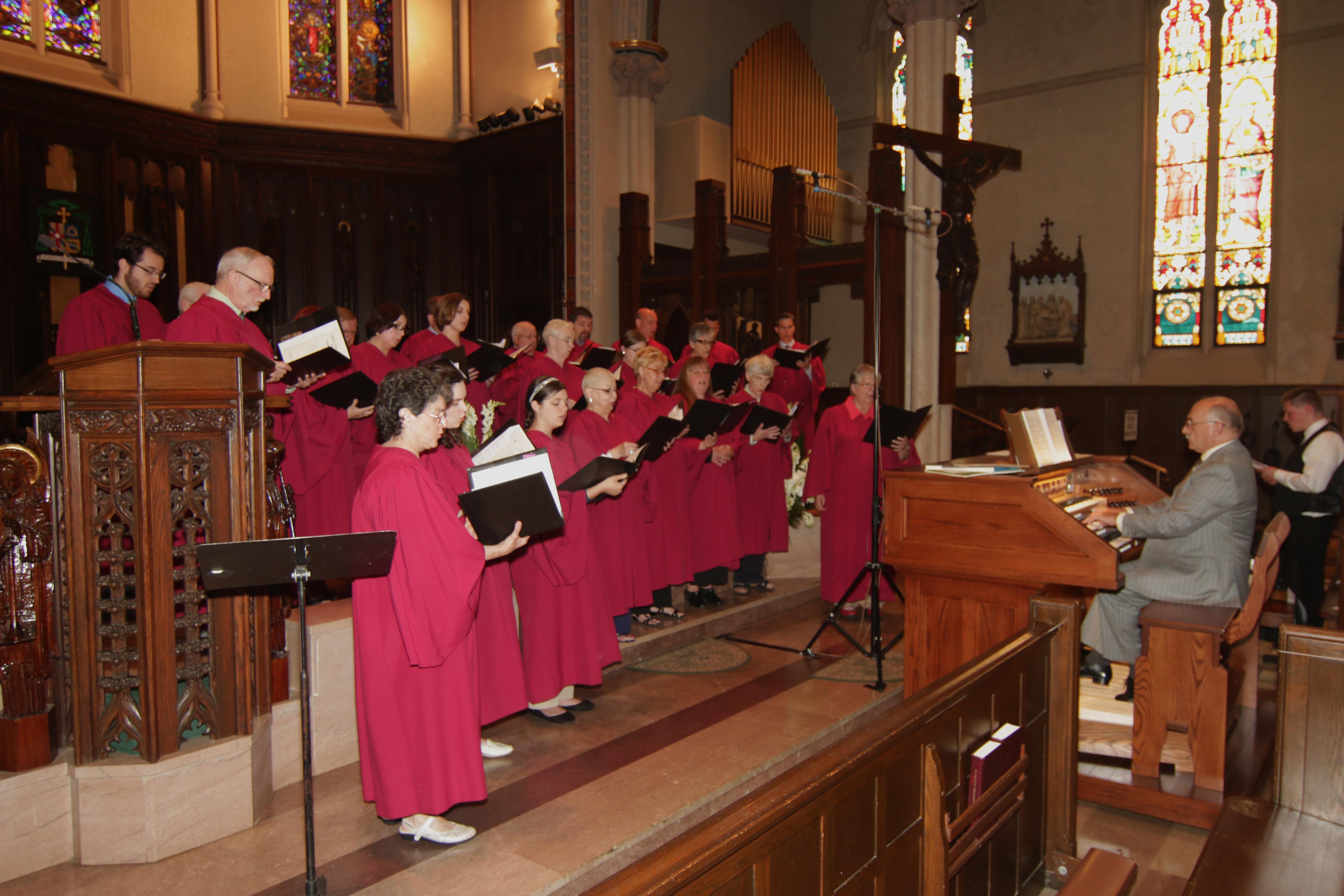 Diocesan Choir sings Franck Ps.150