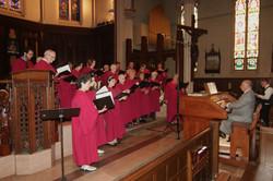 Diocesan Choir sings Franck Ps.150