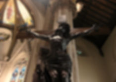 St. Mary's Cathedral Fall River crucifix