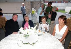 Reception 2 with Fr. Ed Healey