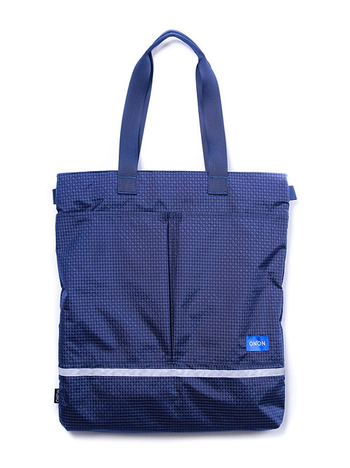 AIR DAY TOTE (M) / NAVY BLUE