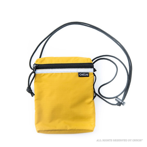 RFID PASSPORT POUCH / YELLOW