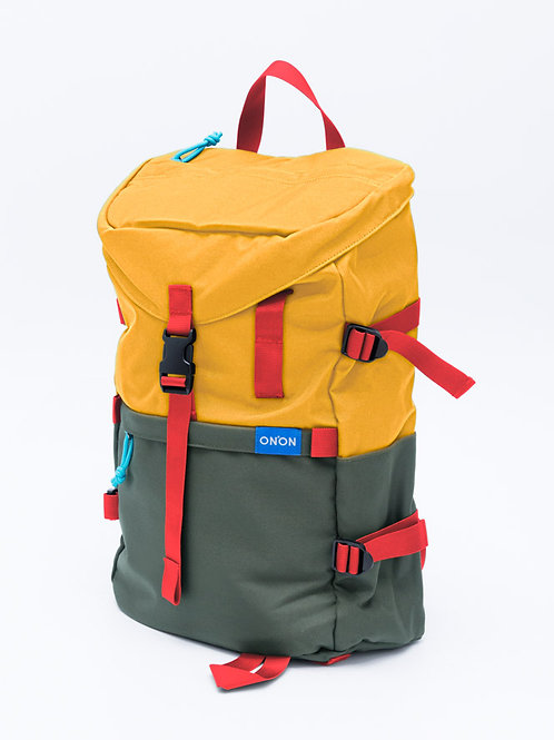 """ADV"" STREET BACKPACK/ Yellow+M.Green"