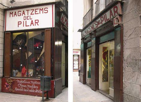 Una botiga centenària al centre de Barcelona