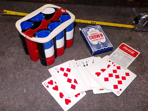 Poker Cards And Chips Set