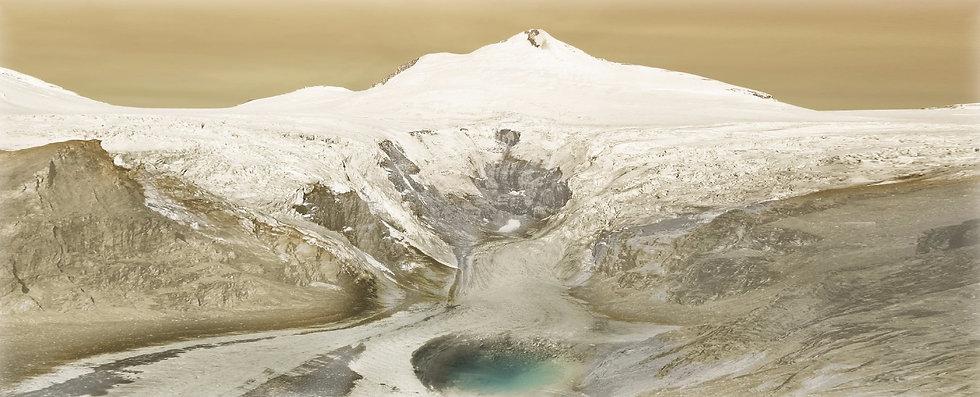Original Gletscherschliff