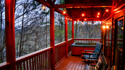 Spruce Moose private covered deck