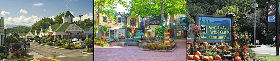 Tanger Outlets, The Village Shops, and Great Smoky Arts & Crafts Community are great shopping places in the Smokies