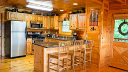Fully appointed, upscale kitchen