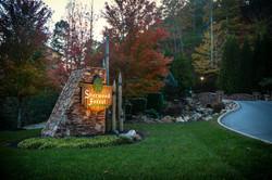 Sherwood Forest Resort entrance