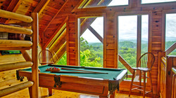 Enjoy the view from the game loft