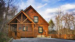 Spruce Moose cabin front