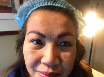 Eyebrows shading