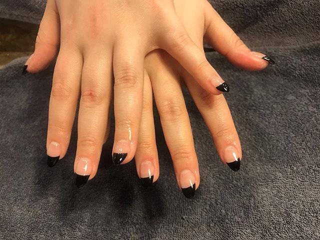 Acrylic  black tip