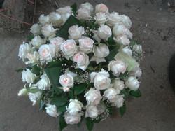 Coussin de roses