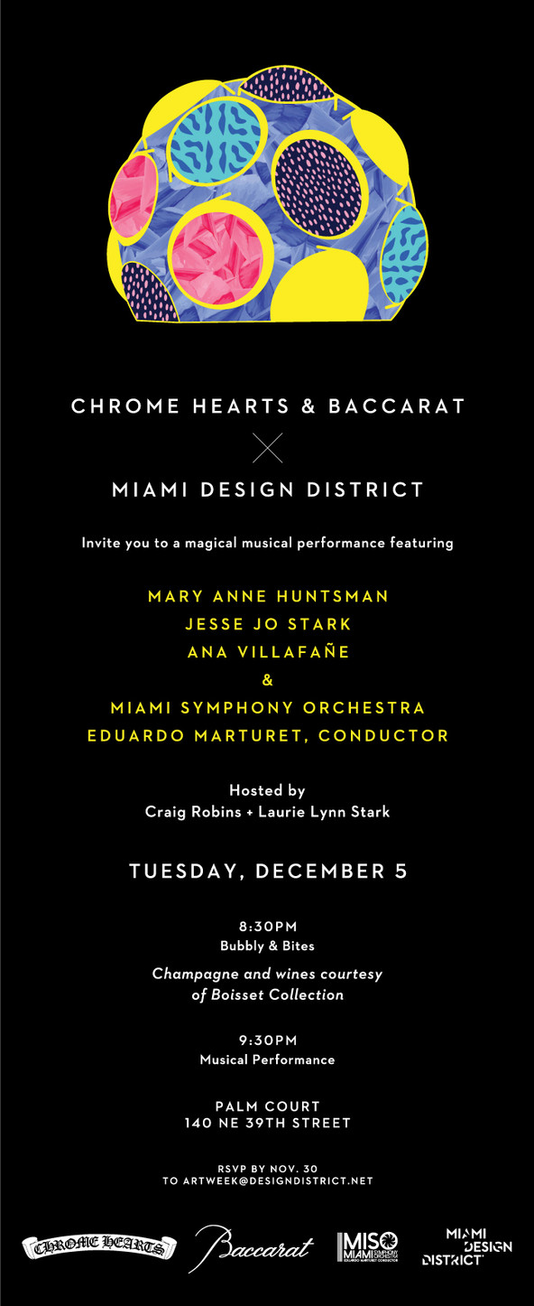 Join Us For a special Free Art Week Concert at MDD | Dec. 5