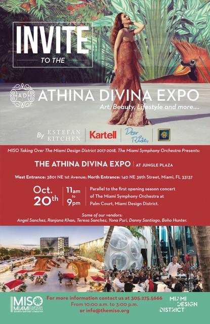 ATHINADIVINA EXPO, October 20 in Miami #atmdd