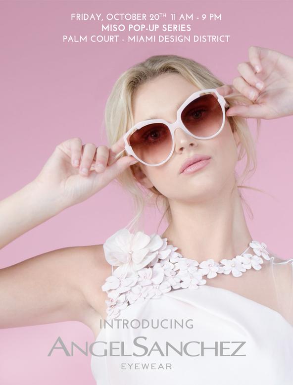 Sneak Peek Angel Sanchez New Eyewear Collection at AthinaDivina Expo #atmdd