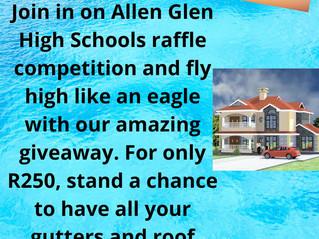 SCHOOL RAFFLE R250. WIN BIG!!!