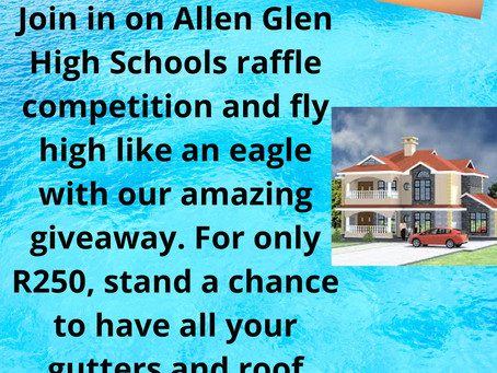 SCHOOL RAFFLE R250. WIN BIG!!!