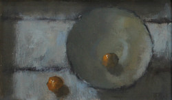 Small Fruits, Oil on board, 14x24cm