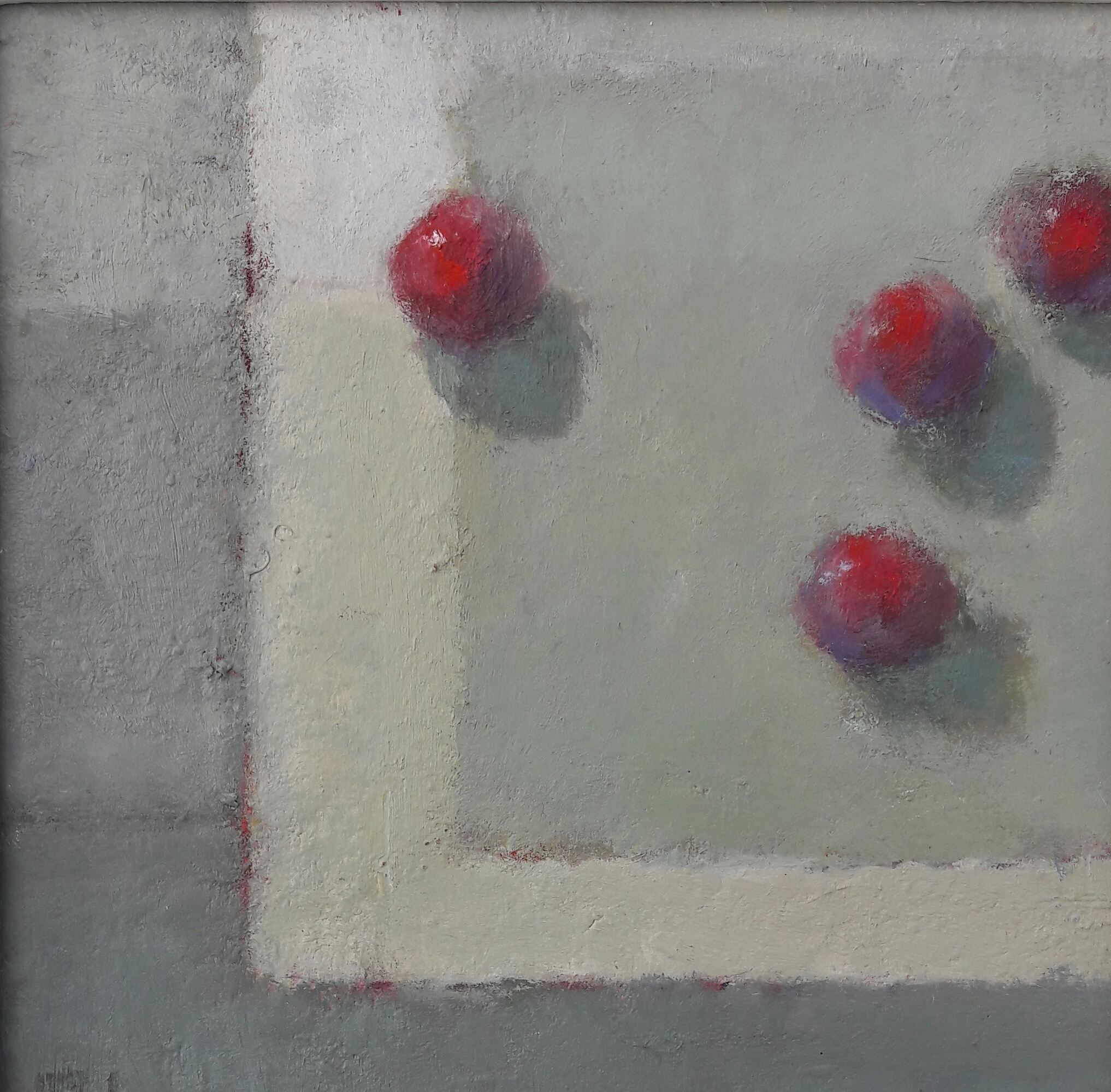 Cherries  Oil on Board  20x20 cm