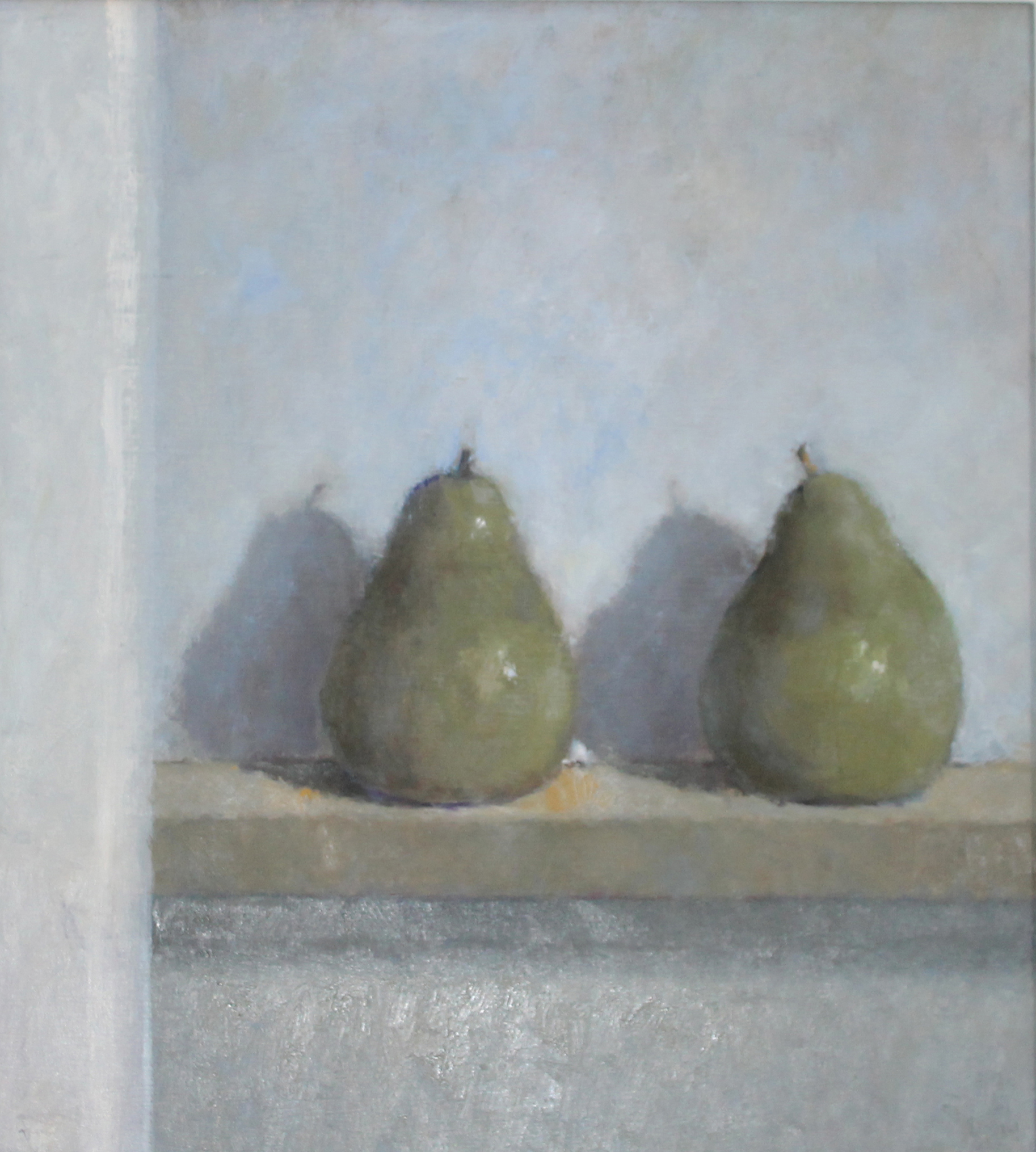 Pears  Oil on Board 48x44