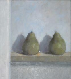 Pears  Oil on Board 48x44