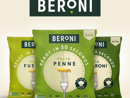 New Branding and Packaging for Beroni...