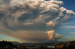 Erupción Volcán Calbuco