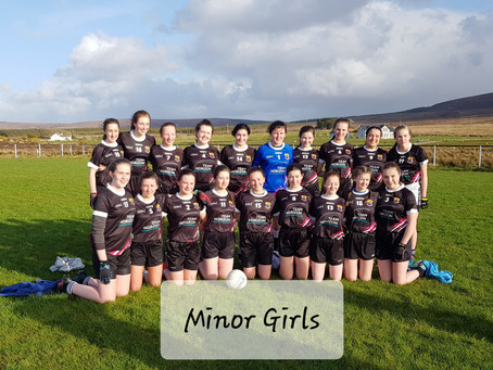 A win away for Our Minor Girls