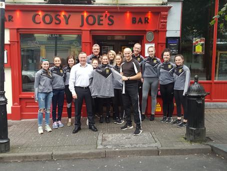 Cosy Joe sponsor's Senior Ladies