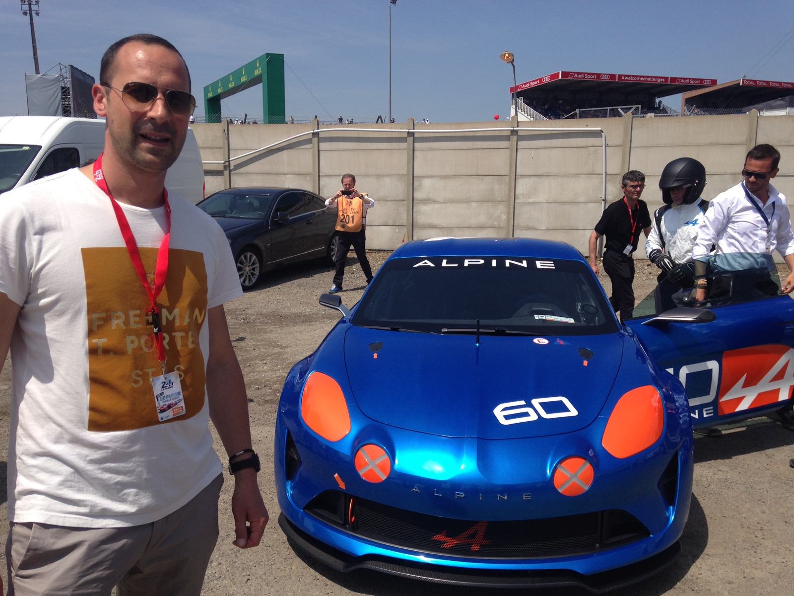 Alpine Z31 Inauguration Le Mans