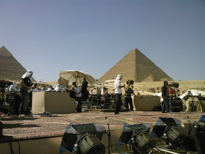 Iam concert Egypt